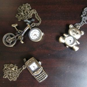 Accessories - 3 Necklace Watches